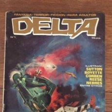 Tebeos: DELTA Nº 1 (DELTA, 1980). Lote 234297715
