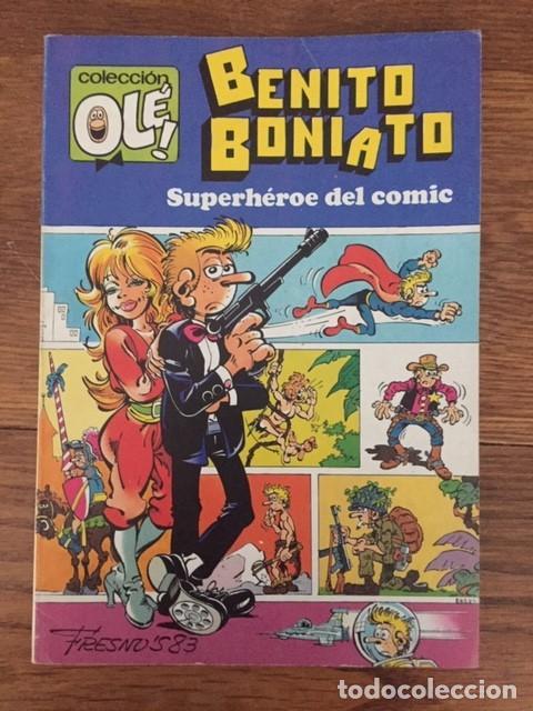 BENITO BONIATO, SUPERHÉROE DEL CÓMIC Nº 1 (COL. OLÉ!, BRUGUERA, 1984) (Tebeos y Cómics - Números 1)