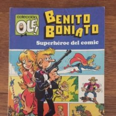 Giornalini: BENITO BONIATO, SUPERHÉROE DEL CÓMIC Nº 1 (COL. OLÉ!, BRUGUERA, 1984). Lote 234298395