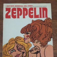BDs: ZEPPELIN Nº 1 (BURU LAN, 1973). Lote 234301470