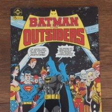 Giornalini: BATMAN Y LOS OUTSIDERS Nº 1 (ZINCO, 1986). Lote 234301675