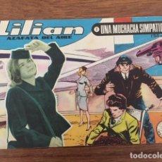 Tebeos: LILIAN, AZAFATA DEL AIRE Nº 2 (ÍBERO MUNDIAL, 1960). Lote 234500835