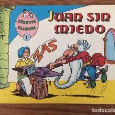 Tebeos: CUENTOS CLÁSICOS Nº 1. JUAN SIN MIEDO (VALENCIANA, 1983). Lote 234506480