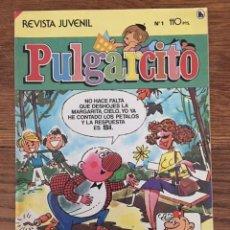 Giornalini: PULGARCITO Nº 1 (BRUGUERA, 1985) TERCERA ÉPOCA. Lote 234509035