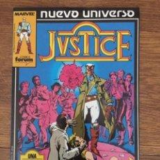 Tebeos: JUSTICE Nº 1 (PLANETA-DEAGOSTINI, 1988). Lote 234511345