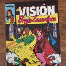 Tebeos: LA VISIÓN Y LA BRUJA ESCARLATA Nº 1 (PLANETA-DEAGOSTINI, 1988). Lote 234511675