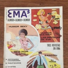 Giornalini: EMA3 Nº 1 (MIGUEL A. ÁLVAREZ, 1977). Lote 234514180