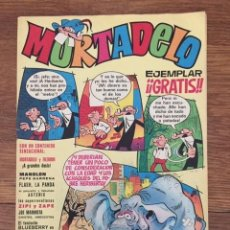 Tebeos: MORTADELO Nº 0 (BRUGUERA, 1970). Lote 234517850