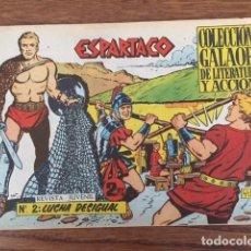 Tebeos: ESPARTACO Nº 2 (GALAOR, 1964). Lote 234647640
