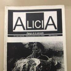 Tebeos: ALICIA. ESPEJO DE LA SINRAZÓN. AÑO 0. NÚM. 1 (ABRIL 1996). Lote 234665110