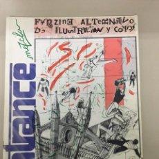 Tebeos: ENTRANCE. FANZINE ALTERNATIVO DE ILUSTRACIÓN Y CÓMICS. NÚM. 1 (1984). Lote 234695480