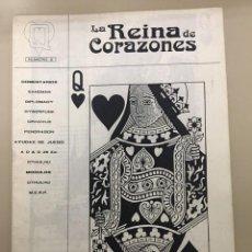 Tebeos: LA REINA DE CORAZONES. NÚM. 0. Lote 234701530