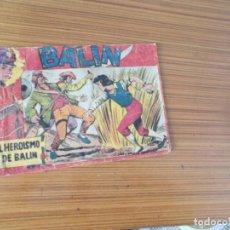 Tebeos: BALIN Nº 1 EDITA MAGA. Lote 237047370