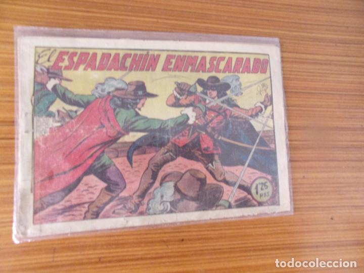 EL ESPADACHIN ENMASCARADO Nº 1 EDITA VALENCIANA (Tebeos y Cómics - Números 1)