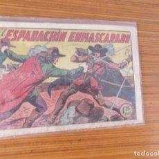 Tebeos: EL ESPADACHIN ENMASCARADO Nº 1 EDITA VALENCIANA. Lote 237055765