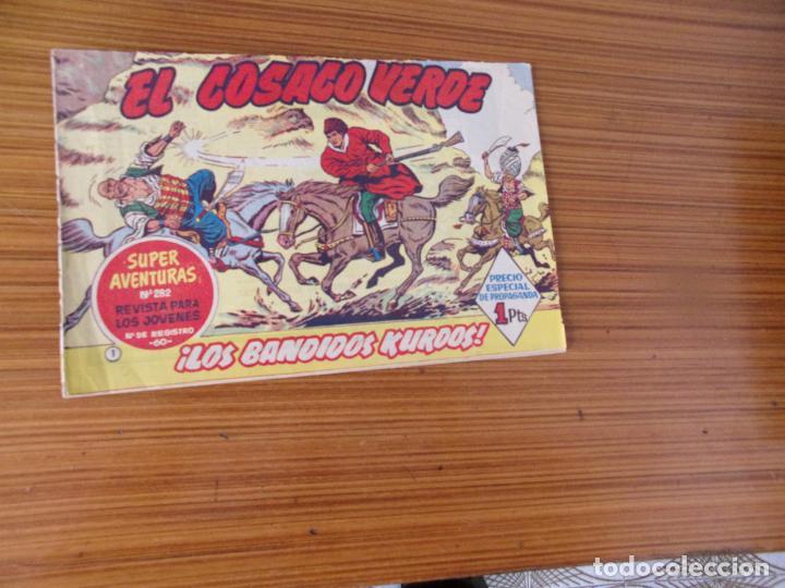 COSACO VERDE Nº 1 EDITA BRUGUERA (Tebeos y Cómics - Números 1)