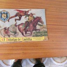 Tebeos: EL HIDALGO DE CASTILLA Nº 1 EDITA ROLLAN. Lote 237072140