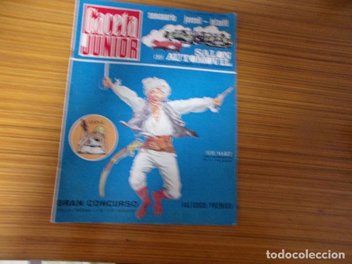 GACETA JUNIOR Nº 1 EDITA UNIVERSO (Tebeos y Cómics - Números 1)