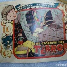 Tebeos: ANDANZAS DE ESTRELLITA EL CASERON DEL TERROR - EDITORIAL AMELLER 1946 - MUY RARO. Lote 237682935