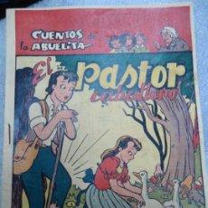 Tebeos: EL PASTOR CABALLERO CUENTOS DE LA ABUELITA EDICIONES TORAY ILUSTRA MACIAN GUIÓN FALGUERAS MUY RARO. Lote 237698470
