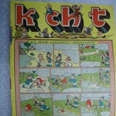 Tebeos: K CH T - Nº 17 LAS AGUAS MINERALES DE VILLACHUPETE- EDICIONES SATURNO 1948. Lote 237718470