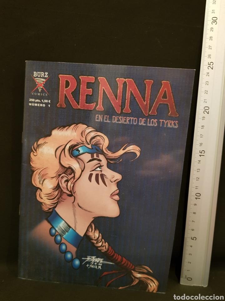 RENNA EN EL DESIERTO DE LOS TYRKS NÚMERO 1 BURZ AÑO 2001 (Tebeos y Cómics - Números 1)