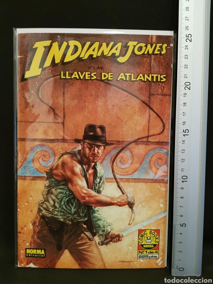 CÓMIC INDIANA JONES Y LAS LLAVES DE ATLANTIS NÚMERO 1 DE 4 NORMA EDITORIAL (Tebeos y Cómics - Números 1)