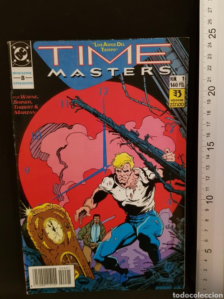 CÓMIC TIME MASTERS LOS AMOS DEL TIEMPO NÚMERO 1 DE 8 DC CÓMICS EDICIONES ZINCO (Tebeos y Cómics - Números 1)
