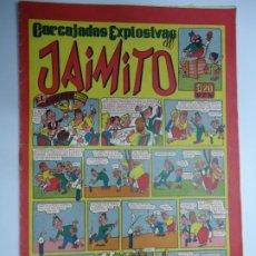 Tebeos: CARCAJADAS EXPLOSIVAS DE JAIMITO EL COHETE VALENCIANA AÑOS 40 MIDE 17 X 24 CM.. Lote 239579525
