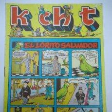 BDs: MUY RARO K CH T - Nº 1 EL LORITO SALVADOR EDICIONES SATURNO 1947 ILUSTRA SANGAR MIDE 17 X 24 CM.. Lote 239837090