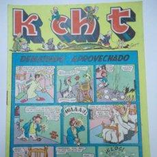 BDs: K CH T - Nº 8 DEMASIADO APROVECHADO EDICIONES SATURNO 1947 ILUSTRA SANGAR MIDE 17 X 24 CM. CORREO CE. Lote 239837645