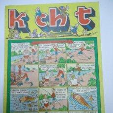 BDs: K CH T - Nº 5 FLAQUILLO NIÑO TREMENDO EDICIONES SATURNO 1947 ILUSTRA SANGAR MIDE 17 X 24 CM.. Lote 239838120