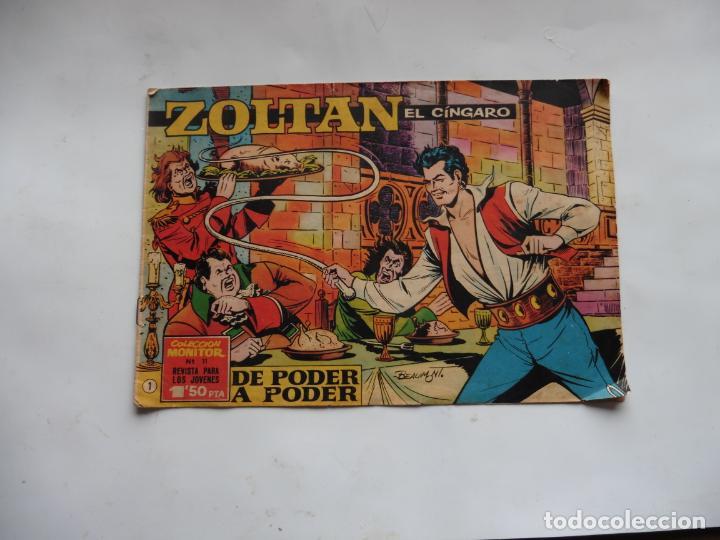 ZOLTAN EL CINGARO Nº 1 ORIGINAL (Tebeos y Cómics - Números 1)