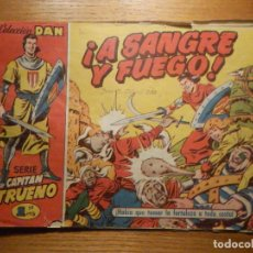 Tebeos: COMIC - EL CAPITAN TRUENO NÚMERO, Nº 1 - ¡ A SANGRE Y FUEGO ! - BRUGUERA 1956 - ORIGINAL -. Lote 241082280