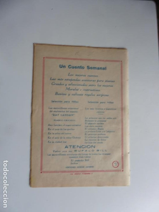 Tebeos: AVENTURAS DE BUFFALO BILL Nº 1 FERMA 1950 ORIGINAL - Foto 2 - 241887045