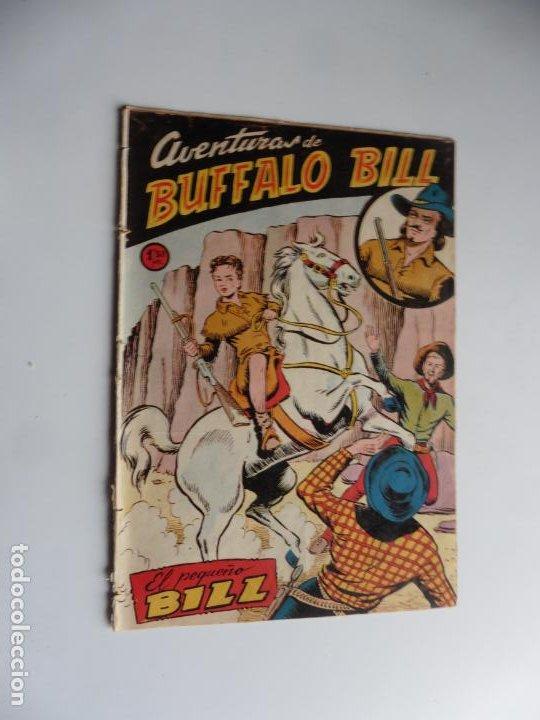 AVENTURAS DE BUFFALO BILL Nº 1 FERMA 1950 ORIGINAL (Tebeos y Cómics - Números 1)
