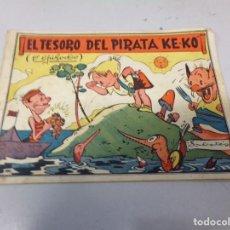 Tebeos: EL TESORO DEL PIRATA KE-KO NUMERO 1 BIBLIOTECA ATALAYA AÑOS 40. Lote 242316500