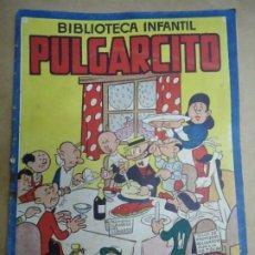Tebeos: BIBLIOTECA INFANTIL PULGARCITO NUMERO EXTRAORDINARIO NAVIDAD Y AÑO NUEVO MUY RARO EJEMPLAR ORIGINAL. Lote 243806395