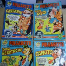 Tebeos: LOTE 4 PULGARCITO SERIE MAGOS DEL LÁPIZ CARPANTA-DON PIO-DON BERRINCHE Y CANUTO MUY RAROS ESPECIAL L. Lote 243818915