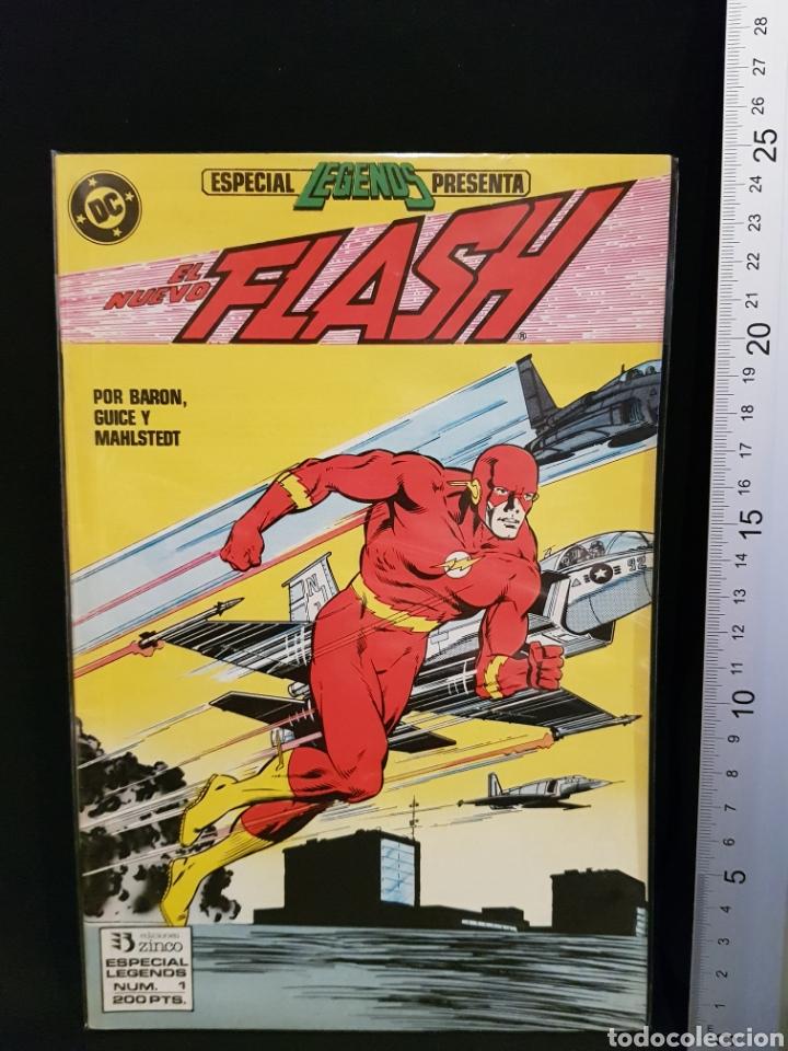 CÓMIC EL NUEVO FLASH NÚMERO 1 DC CÓMICS EDICIONES ZINCO (Tebeos y Cómics - Números 1)