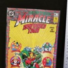 BDs: CÓMIC MISTER MIRACLE 1990 WORLD TOUR ESPECIAL NÚMERO 1 52 PÁGINAS DC CÓMICS EDICIONES ZINCO. Lote 245018575