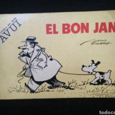 Tebeos: EL BON JAN, N° 1, TIRAS CÓMICAS, EDICION CORAL, ALFONS FIGUERAS.. Lote 245250375