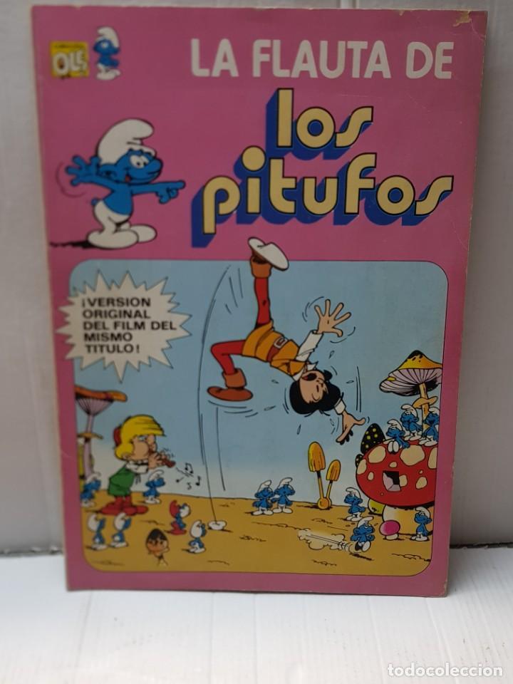 COMIC LOS PITUFOS LA FLAUTA DE NÚMERO 1 DE 1979 EDITORIAL BRUGUERA COLECCIÓN OLE (Tebeos y Cómics - Números 1)