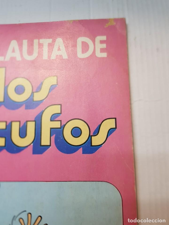 Tebeos: Comic Los Pitufos La Flauta de Número 1 de 1979 editorial Bruguera Colección Ole - Foto 2 - 245293725