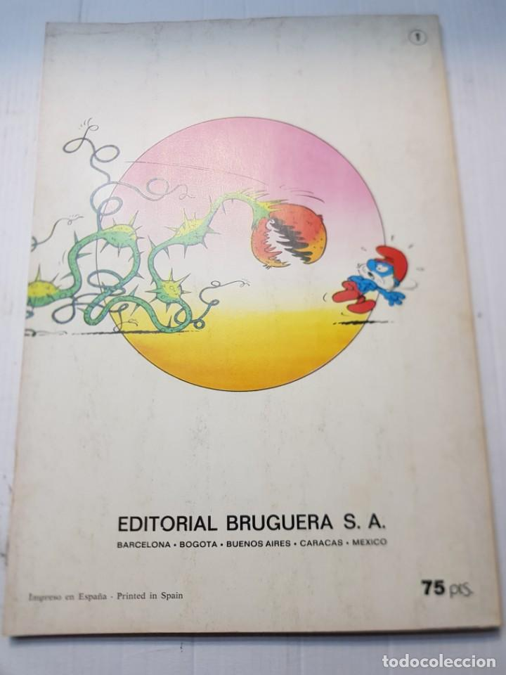 Tebeos: Comic Los Pitufos La Flauta de Número 1 de 1979 editorial Bruguera Colección Ole - Foto 5 - 245293725