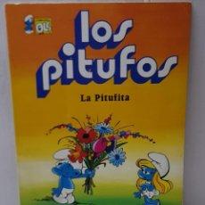 Tebeos: COMIC LOS PITUFOS LA PITUFINA DE NÚMERO 4 DE 1979 EDITORIAL BRUGUERA COLECCIÓN OLE. Lote 245294385