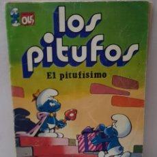 Tebeos: COMIC LOS PITUFOS EL PITUFISIMO DE NÚMERO 3 DE 1979 EDITORIAL BRUGUERA COLECCIÓN OLE. Lote 245295080