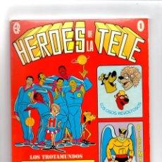 Tebeos: Nº 1 HEROES DE LA TELE. ED.RECREATIVAS,S.A. MADRID 1977. Lote 247185305