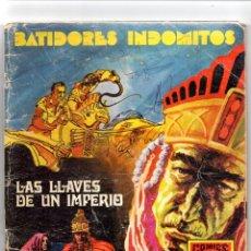 Tebeos: Nº 1 BATIDORES INDOMITOS. EDITORIAL ROLLAN 1973 MADRID. Lote 247187590