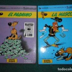 Giornalini: RANTANPLAN 1989 LOTE DE Nº 1 Y 2 EL PADRINO- LA MASCOTA GRIJALBO/DARGAUD. Lote 247938865